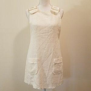 NWOT Zara white dress
